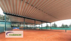 Cubierta autoportante para tenis en Coruña