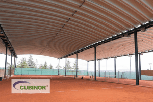 Cubierta para pista de tenis en Coruña