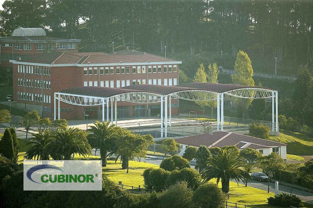 Cubierta para pista polideportiva colegio Antón de Candás, Asturias
