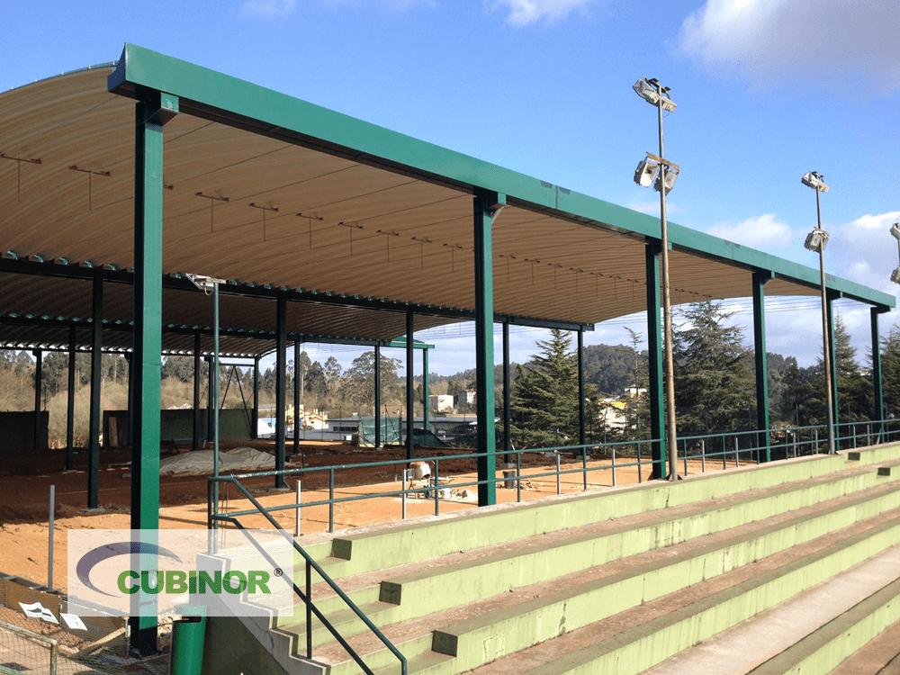 Cubiertas autoportantes para pistas de tenis en Coruña
