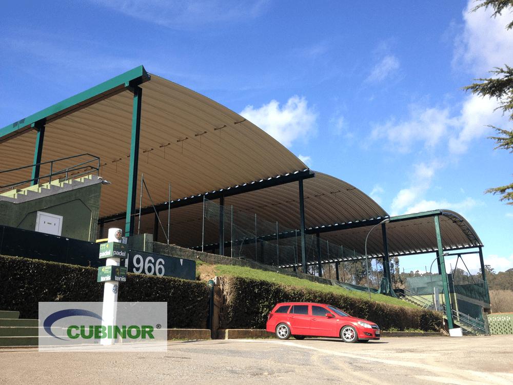 Cubiertas autoportantes para pistas tenis en Coruña