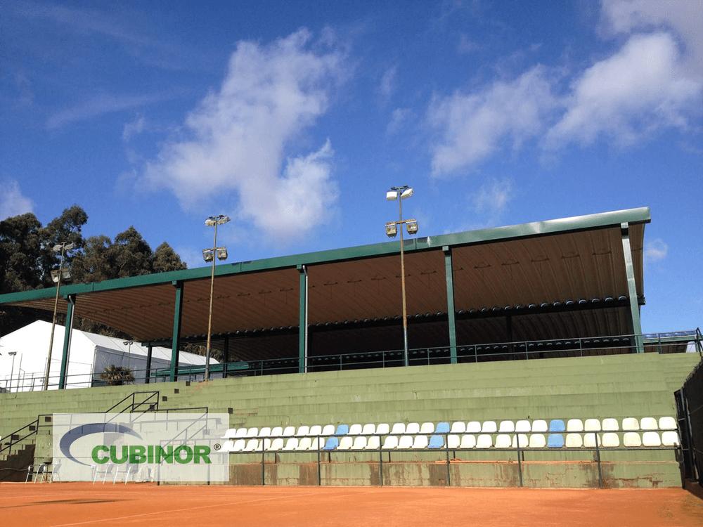 Cubiertas autoportantes para tenis en Coruña