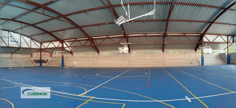 Cerramiento pista polideportiva en Madrid