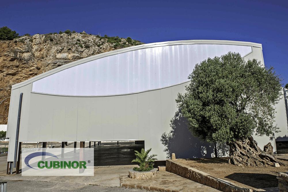 Cubierta autoportante para pista polideportiva en La Vilavella, Castellón