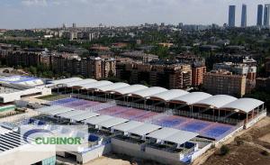 Cubierta autoportante para tenis en Madrid