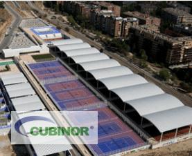 Cubiertas autoportantes para pistas de tenis en Madrid