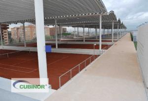 Cubiertas para pistas de tenis en Madrid