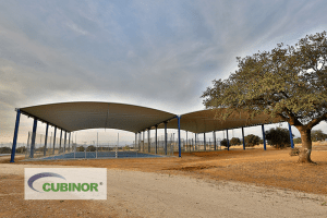 Cubierta para pista polideportiva en Badajoz