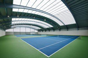 Cubierta pista tenis Club Tenis Pamplona