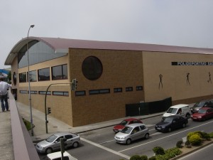 cubierta autoportante polideportivo Sagrada Familia La Coruña