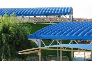 Cubierta autoportante Polideportivo Municipal San Agustín de Guadalix