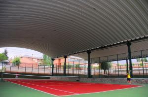 cubierta autoportante pistas de tenis Galapagar